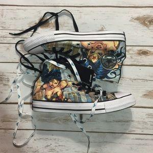 Wonder Woman DC Converse shoes